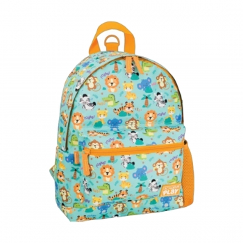 MOCHILA COSTA MINI PP ACAD PLAY ZOO 306711 TILIBRA