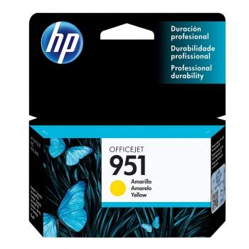 CARTUCHO HP 951 ORIG AMARELO CN052AB