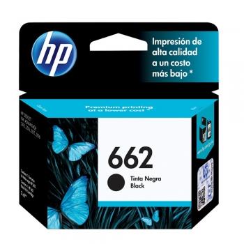CARTUCHO HP 662 ORIG PRETO CZ103AB