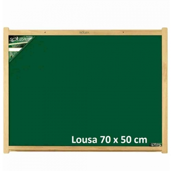 QUADRO LOUSA MADEIRA 70X50 REF.2207 SOUZA
