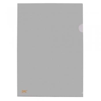 PASTA L PLASTICA A4 R.42PP-FUME               DAC